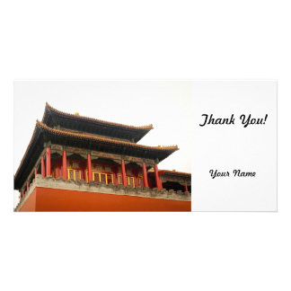 Forbidden City Building Picture Card