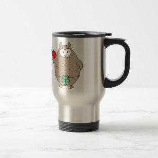 Forbidden Fruit Hoot Stainless Steel Travel Mug