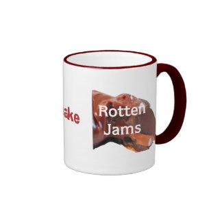 Forbidden Fruits make Rotten Jams Ringer Mug