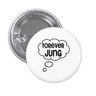 Forever Jung 3 Cm Round Badge