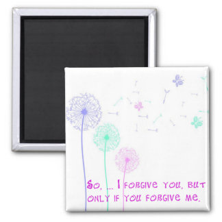 Forgiveness Pastel Weed Wishes Magnet