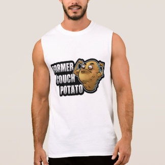 Former Couch Potato Exercise/Fitness Design Sleeveless Shirt