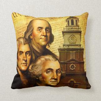 Founding Fathers Cushion
