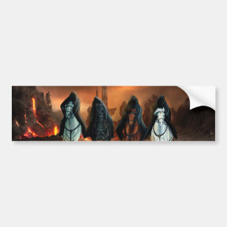 Four Horsemen Of The Apocalypse Bumper Sticker