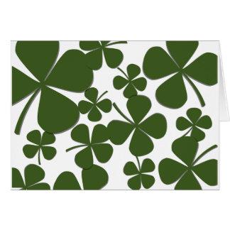 Four Leaf Clover Note Cards