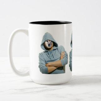 Fox Is A Rapper Two-Tone Mug
