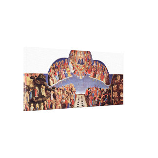 Fra Angelico - The Last Judgement Canvas Prints