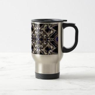 Fractal 730 stainless steel travel mug