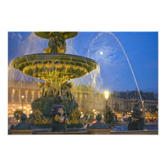 France, Ile de France, Paris, Concorde place, 2 Photographic Print