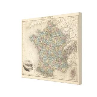 France Politics Stretched Canvas Print