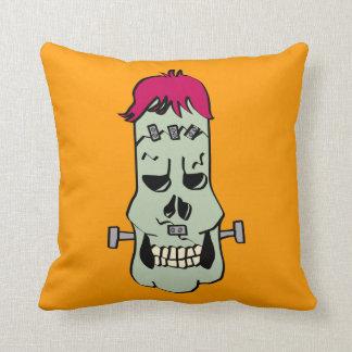 Frankenskull Pillow Cushions