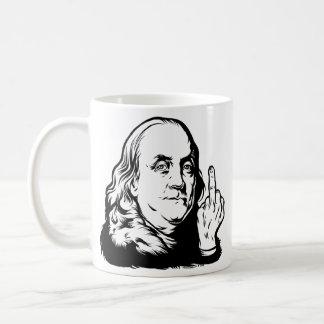 Franklin Basic White Mug