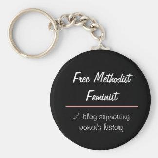 Free Methodist Feminist Key Chain