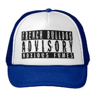 French Bulldog Advisory Noxious Fumes Cap