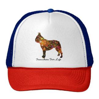 French Bulldog Bokeh Silhouette Cap