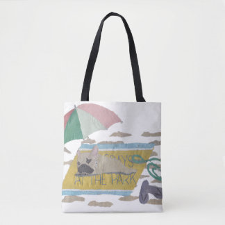 French Bulldog, Fawn Frenchie, Colorful, Beach Tote Bag