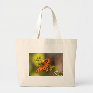 Fritillary Gulf Butterfly Gifts and Apparel Jumbo Tote Bag