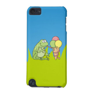 Frog with Icecream iPod Touch 5G Cover