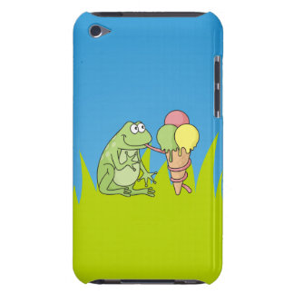 Frog with Icecream iPod Touch Case