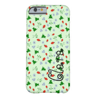 Frogs and Bugs Barely There iPhone 6 Case
