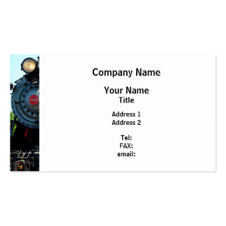 Front of Steam Engine Pack Of Standard Business Cards