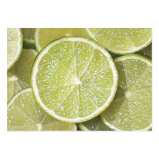Fruit: Lime Pack Of Chubby Business Cards
