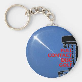 Full Contact Disc Golf Key Chain