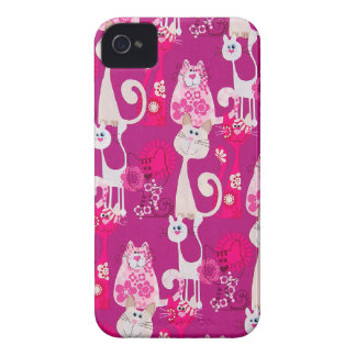 Funky Cool Cats Blackberry Bold Case-Mate iPhone 4 Case