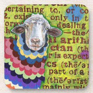 Funky Sheep Coasters - Set of 6