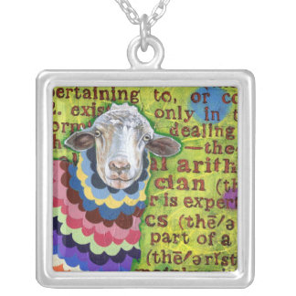 Funky Sheep Necklace