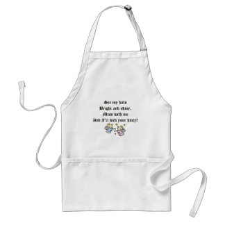 Funny Angels T-shirts Gifts Standard Apron