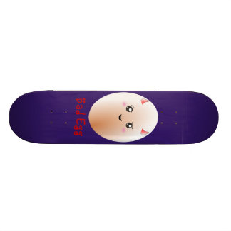 Funny Bad Egg Custom Skateboard
