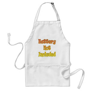 Funny Battery Not Included T-shirts Gifts Standard Apron
