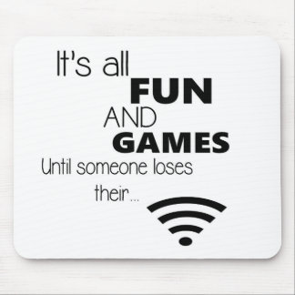 Funny Computer / Internet Quote Mouse Pad