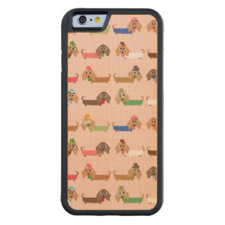 Funny Dachshund Dogs Maple iPhone 6 Bumper