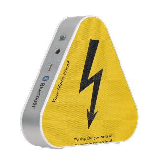 Funny Lightning Bolt Warning Sign