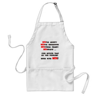 Funny Men T-shirts Gifts Standard Apron