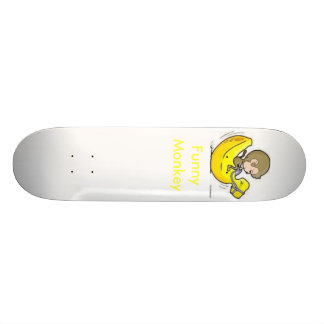 Funny Monkey Custom Skateboard