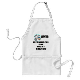 Funny One Night Stand T-shirts Gifts Standard Apron