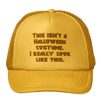 Funny This Isn't a Halloween Costume Cap