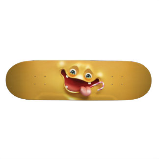 Funny Yellow Face 19.7 Cm Skateboard Deck