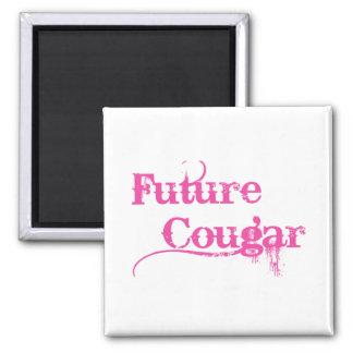 Future Cougar Square Magnet