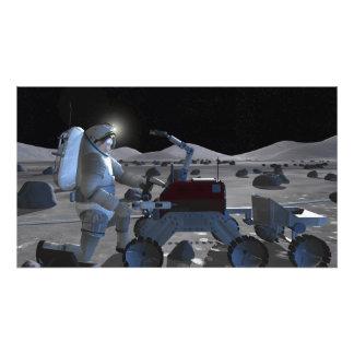 Future space exploration missions 10 photo print
