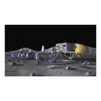 Future space exploration missions 3 photographic print