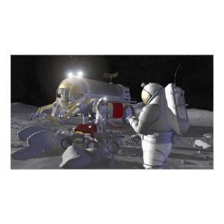 Future space exploration missions photograph