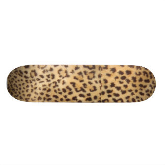 Fuzzy Cheetah Skateboard