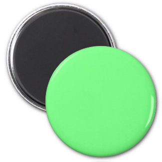 G07 Green Color 6 Cm Round Magnet