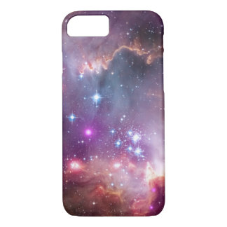 Galactic Outer Space Purple Nebulae iPhone 7 Case