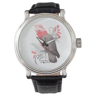 Galah Cockatoo Wrist Watch