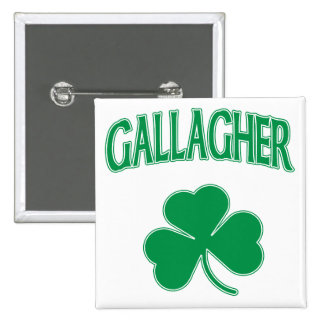 Gallagher Irish 15 Cm Square Badge